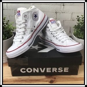 ⭐️ Converse Madison Mid Women's Size 7 with Box ⭐️